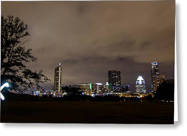 University Of Texas At Austin Greeting Cards - Austin City Limits Greeting Card by Eric Psihoules