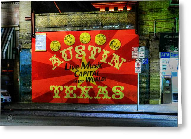 Austin Landmarks Greeting Cards - Austin HDR 006 Greeting Card by Lance Vaughn