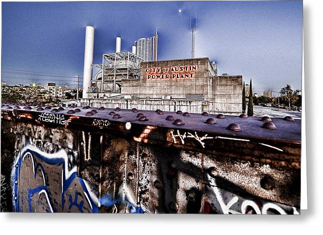 Austin Powers Greeting Cards - Austin Power Plant Greeting Card by Wildcat Studios