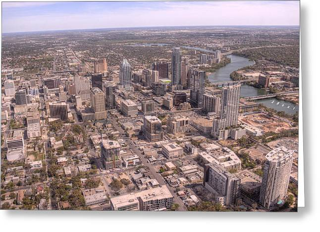 Ut Tower Greeting Cards - Austin Texas Greeting Card by Andrew Nourse