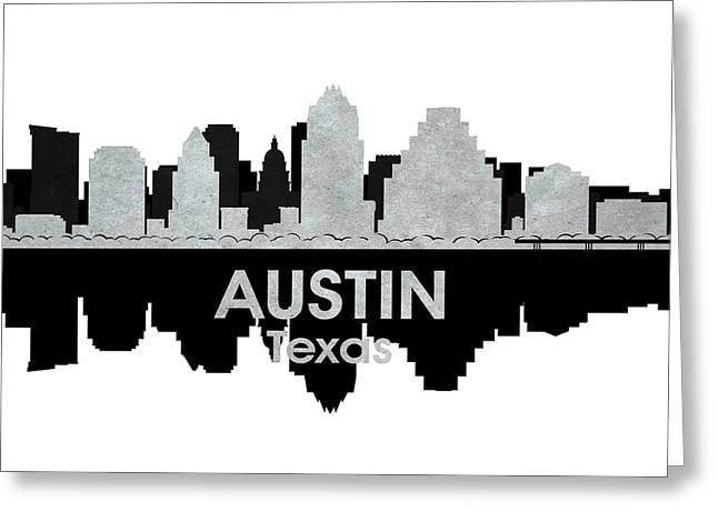 Austin Tx 4 Greeting Card by Angelina Vick