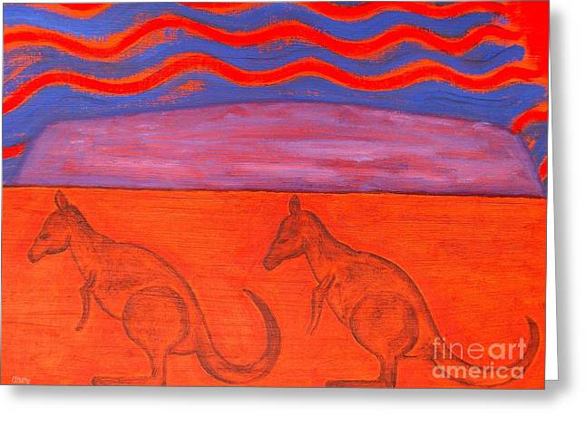 Wildlife Images Greeting Cards - Australia Greeting Card by Patrick J Murphy