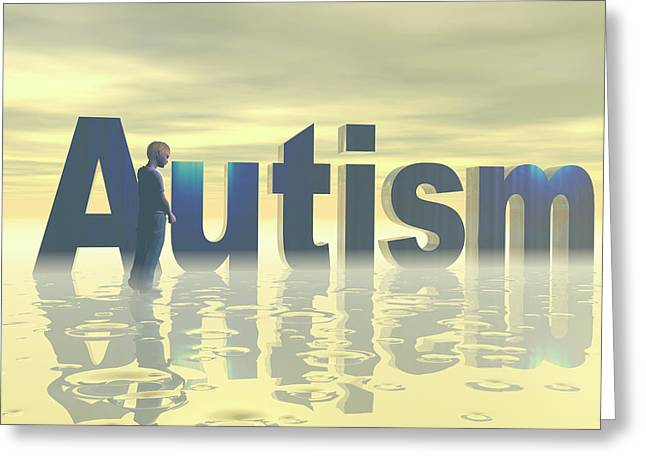 Autism Greeting Card by Carol & Mike Werner