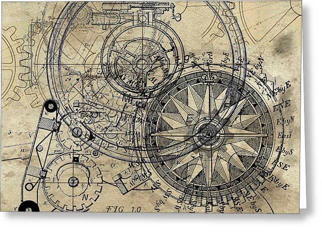 Autowheel II Greeting Card by James Christopher Hill