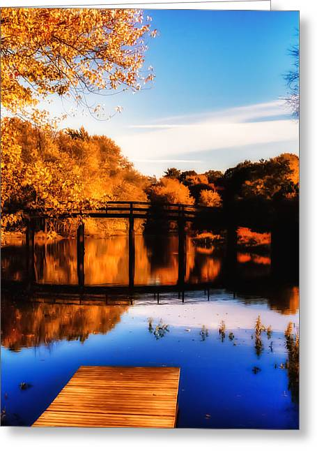 Concord Greeting Cards - Autumn afternoon wears on Greeting Card by Jeff Folger