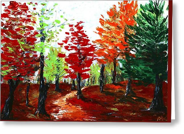Autumn Greeting Card by Anastasiya Malakhova