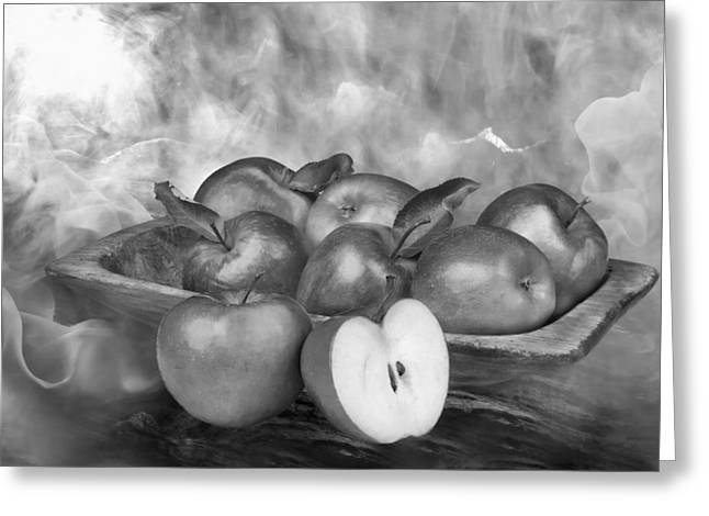 Apple Photographs Greeting Cards - Autumn Apples 2 Greeting Card by Manfred Lutzius