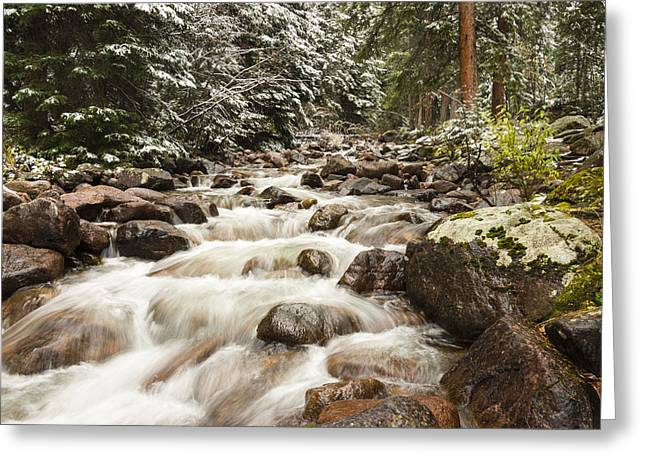 Autumn At Gore Creek - Vail Colorado Greeting Card by Brian Harig