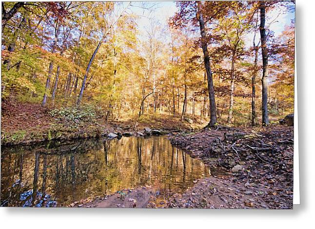 Autumn At The Longbow Greeting Card by Bonnie Barry
