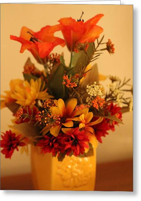 Condolences Greeting Cards - Autumn Bouquet Greeting Card by Dan Sproul