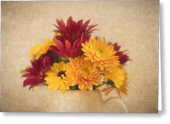Kim Photographs Greeting Cards - Autumn Bouquet Greeting Card by Kim Hojnacki