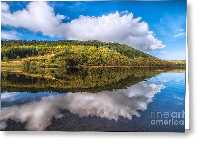 Autumn Clouds Greeting Card by Adrian Evans