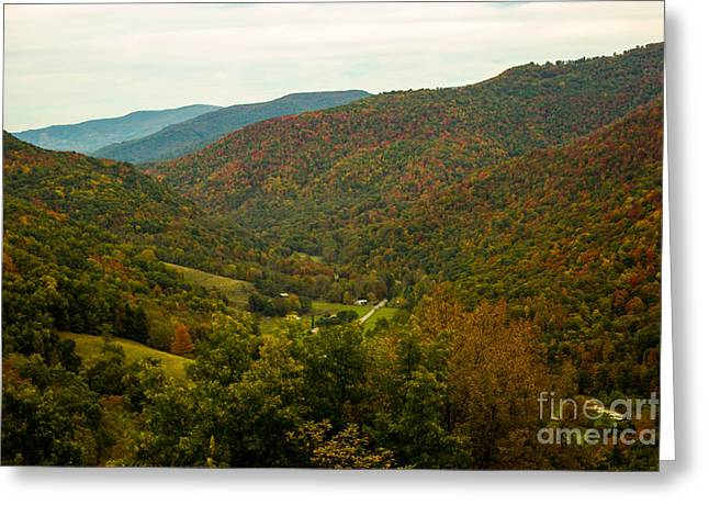 West Fork Greeting Cards - Autumn Comes To Appalachia  Greeting Card by Howard Tenke