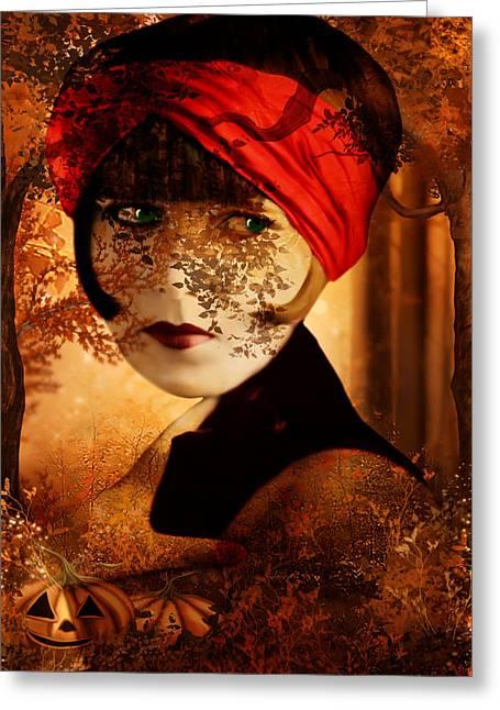 Pamela Phelps Greeting Cards - Autumn Comfort Greeting Card by Pamela Phelps