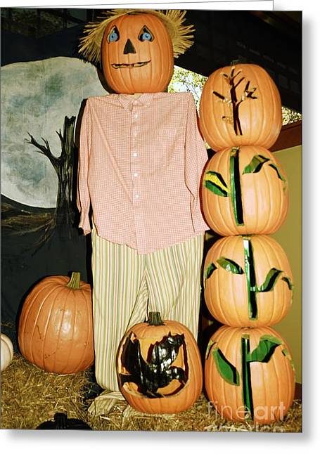 Pajamas Greeting Cards - Autumn Decorations Greeting Card by Kathleen Struckle