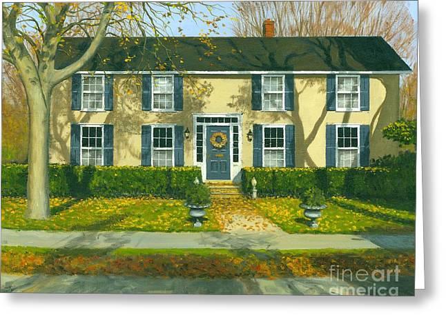 Artist Michael Swanson Greeting Cards - Autumn Delight Greeting Card by Michael Swanson