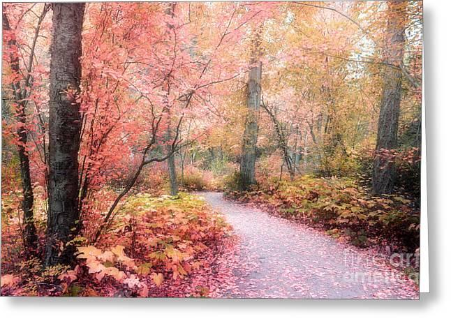 Foilage Greeting Cards - Autumn Fantasy Greeting Card by Tara Turner