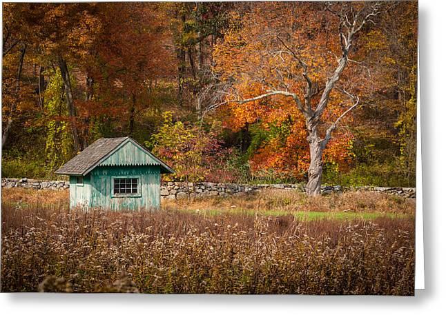 Autumn Getaway Greeting Card by Frank Mari