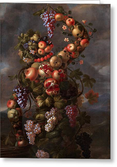 Autumn Greeting Card by Giovanni Stanchi