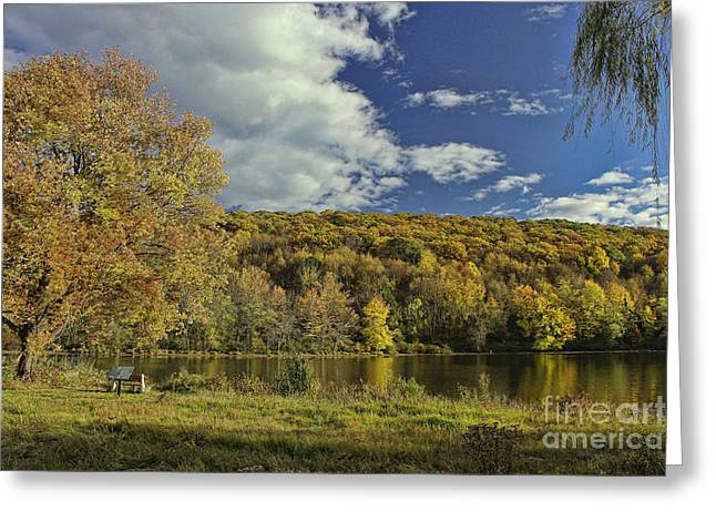 Fall Scenes Greeting Cards - Autumn Glory Greeting Card by Allen Beatty