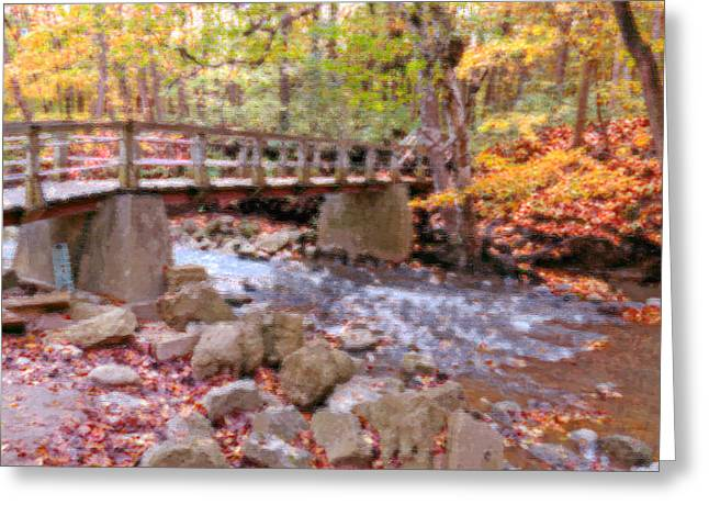 Petrifying Springs Greeting Cards - Autumn Glory Greeting Card by Kay Novy