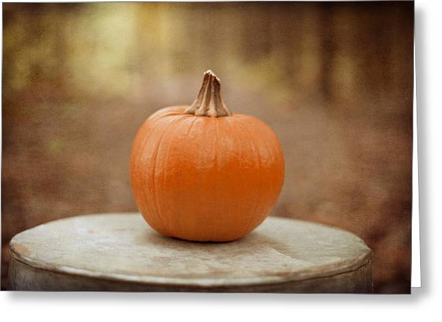 Autumn Prints Greeting Cards - Autumn Harvest Greeting Card by Kim Fearheiley