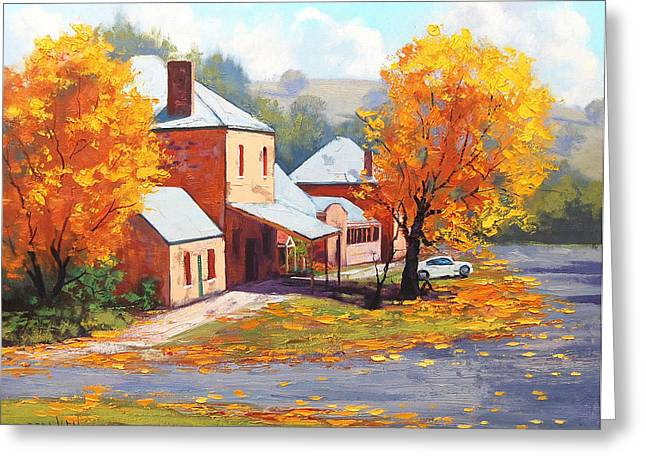 Fall Trees Greeting Cards - Autumn in Carcor Greeting Card by Graham Gercken
