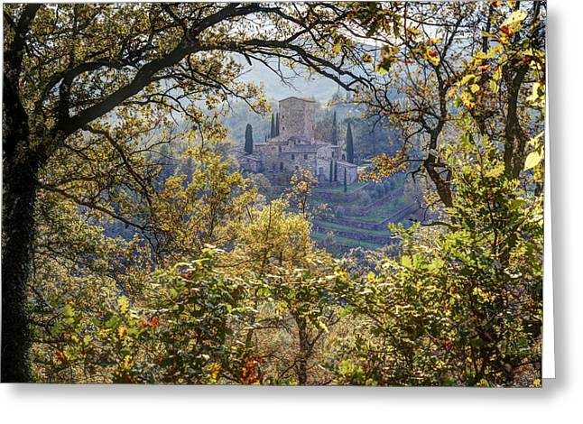 Autumn In Chianti Greeting Card by Eggers   Photography
