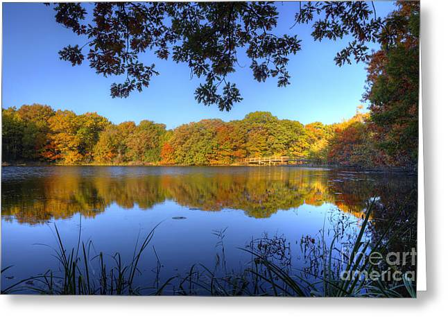 Thankful Greeting Cards - Autumn in Heaven Greeting Card by Wayne Moran