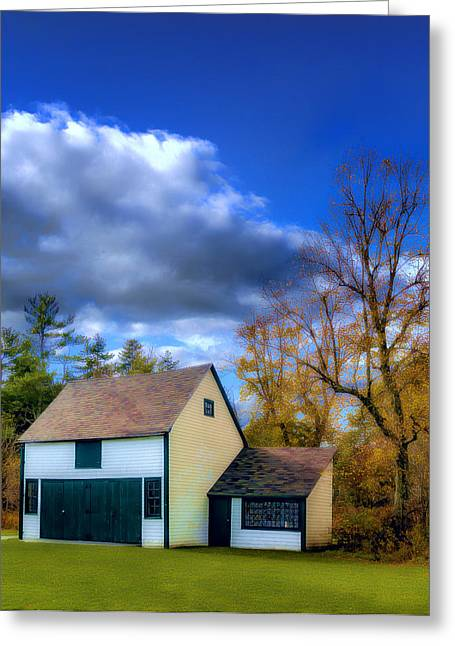 Shed Digital Art Greeting Cards - Autumn in Mount Uniacke Greeting Card by Ken Morris