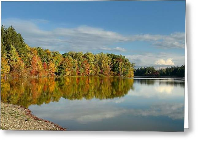 Autumn In Northern Ohio Greeting Card by Daniel Behm