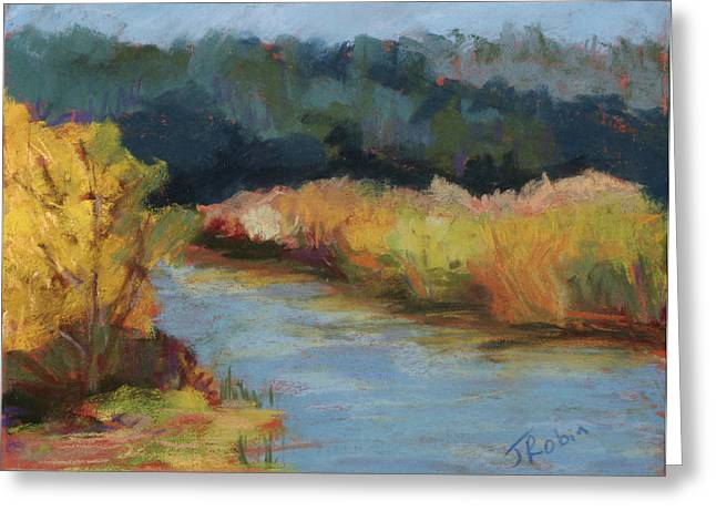 Marin County Pastels Greeting Cards - Autumn in Point Reyes Greeting Card by Jennifer Robin