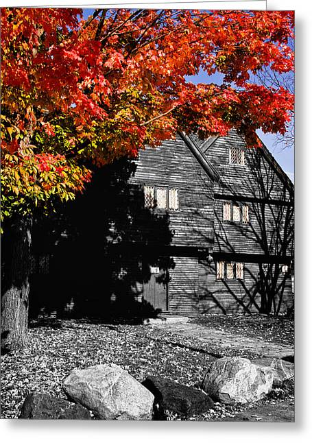 Fall Colors Greeting Cards - Autumn in Salem Greeting Card by Jeff Folger