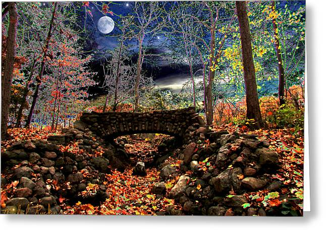 Edison Greeting Cards - Autumn in the Meadow Greeting Card by Michael Rucker
