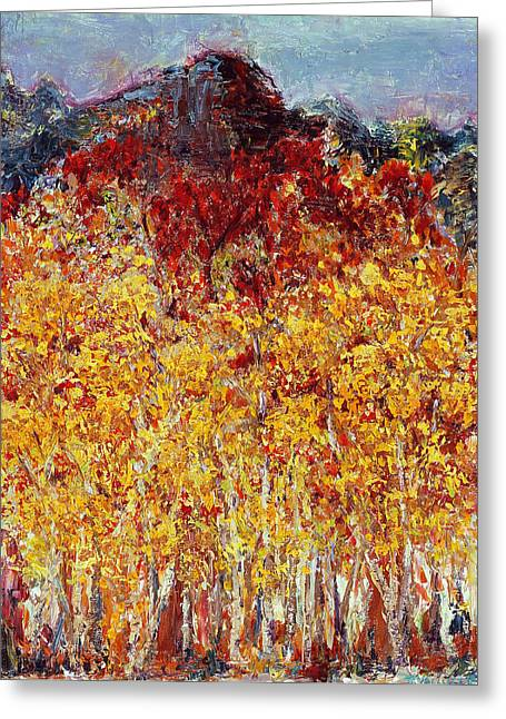 Valluzzi Greeting Cards - Autumn in the Pioneer Valley Greeting Card by Regina Valluzzi