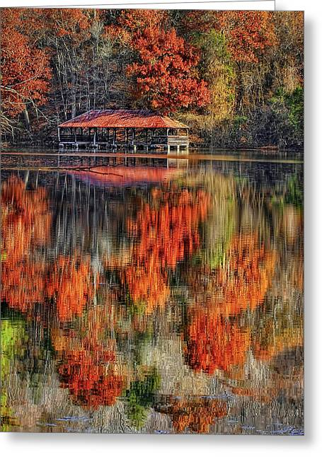 Tennessee River Greeting Cards - Autumn in the Smokeys Greeting Card by Marcia Colelli