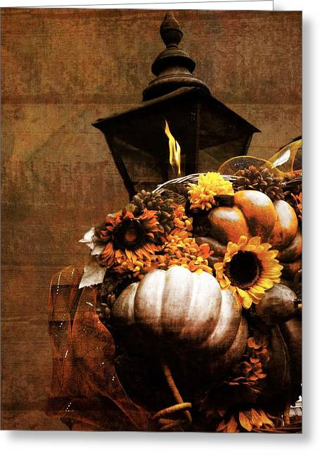 Gatlinburg Tennessee Greeting Cards - Autumn Light Post Greeting Card by Dan Sproul