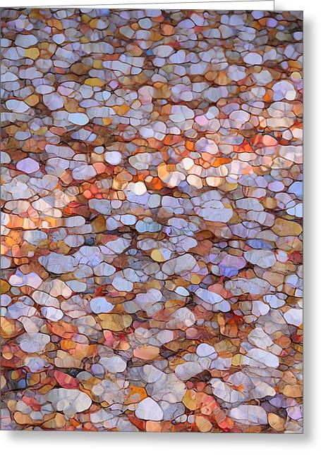 Colors Of Autumn Greeting Cards - Autumn Mosaic Greeting Card by Dan Sproul