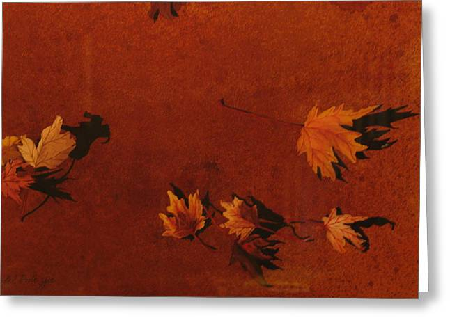 Autumn Offering Greeting Card by Carole Poole