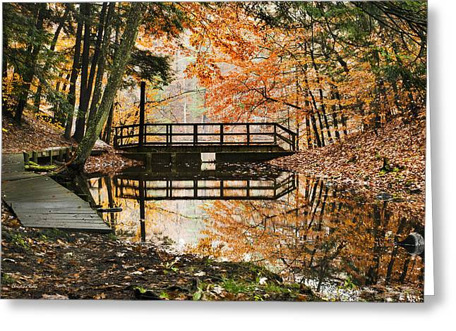 Stream Greeting Cards - Autumn Pleasure Greeting Card by Christina Rollo