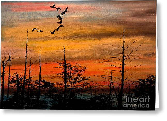 Illuminate Pastels Greeting Cards - Autumn Greeting Card by R Kyllo