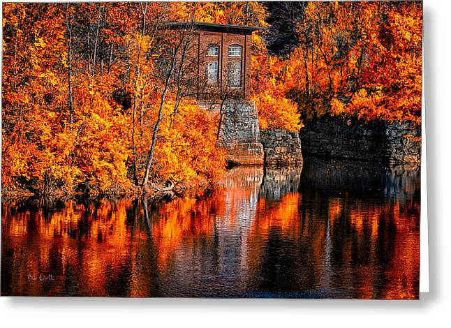 Androscoggin Greeting Cards - Autumn Reflections  Greeting Card by Bob Orsillo