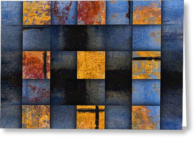Total Abstract Greeting Cards - Autumn Reflections Greeting Card by Carol Leigh
