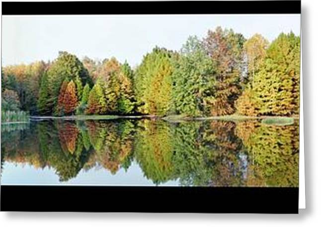 Indiana Autumn Greeting Cards - Autumn Reflections Greeting Card by Tammy Davis
