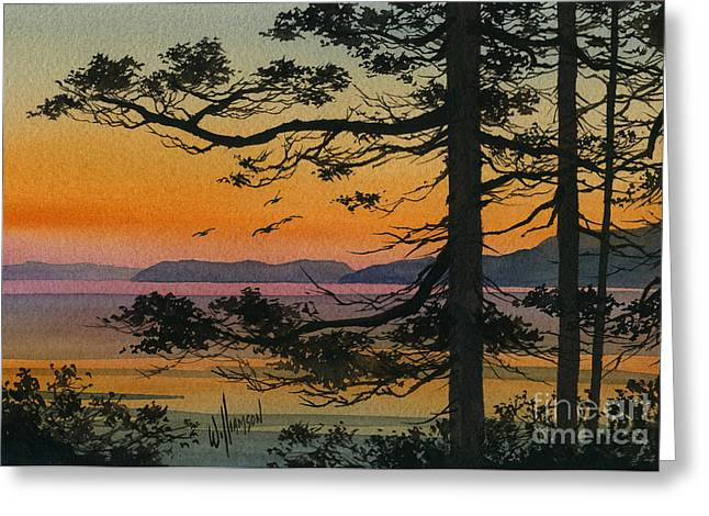 View Framed Prints Greeting Cards - Autumn Shore Greeting Card by James Williamson