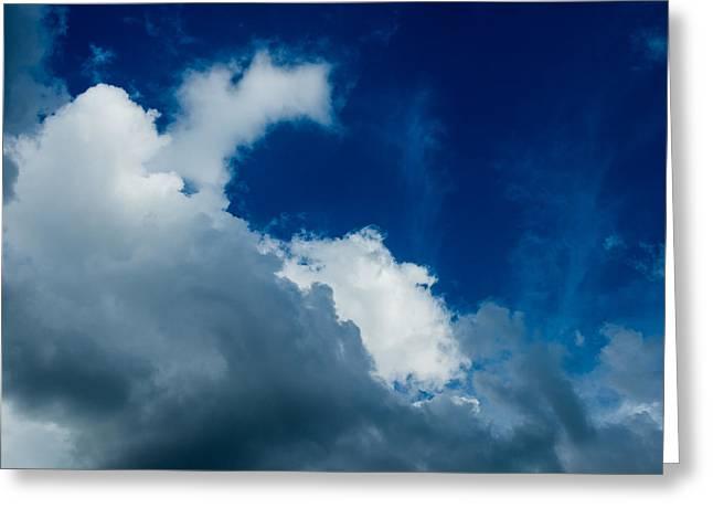 Flash Greeting Cards - Autumn Skies Greeting Card by Alexander Senin