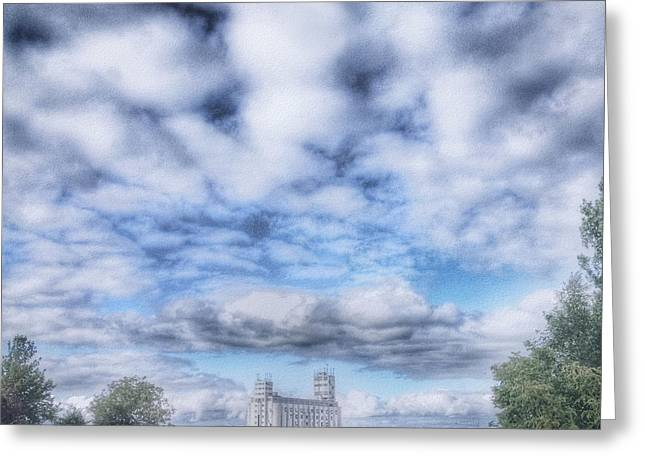 Collingwood Greeting Cards - Autumn Skies Greeting Card by Andrea Kollo