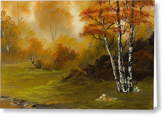 Autumn Splendor Greeting Card by C Steele