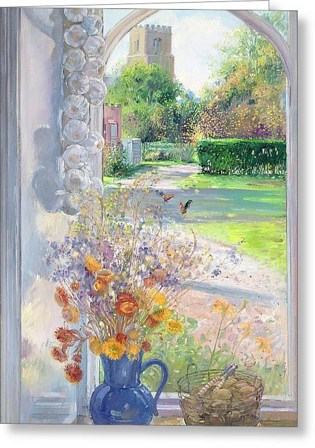 Autumn Still Life Greeting Card by Timothy Easton
