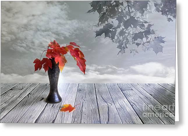 Autumn Still Life Greeting Card by Veikko Suikkanen